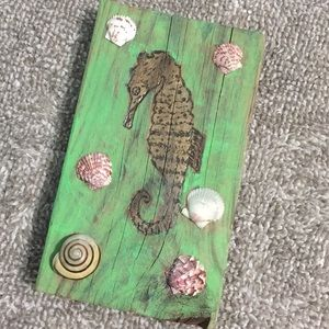 Other - Handmade Seahorse wall hanging